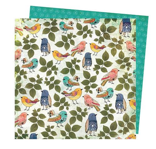 Song Bird - Storyteller Vicki Boutin 12x12 patterned paper