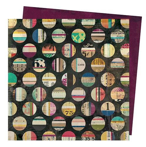 Assemblange- Storyteller Vicki Boutin 12x12 patterned paper
