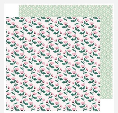 12x12 Posies  Paper- Sweet Story
