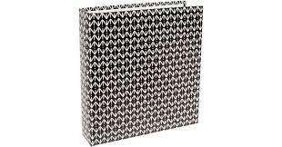 6x8 Album- Black Pattern -project life