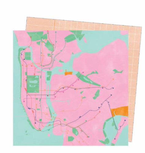 #22 Go the scenic route 12x12 paper-