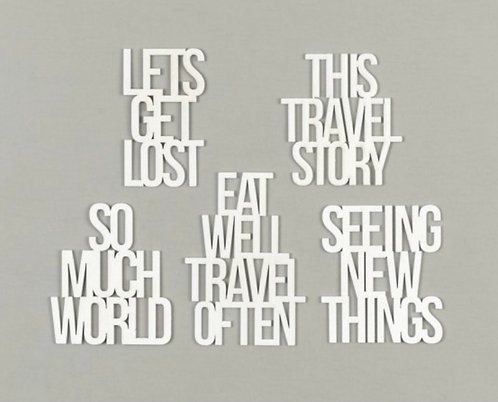 Travel Collection 2020 large phrase