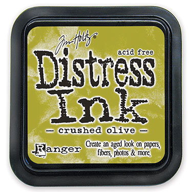 Ranger Distress Ink- Crushed Olive