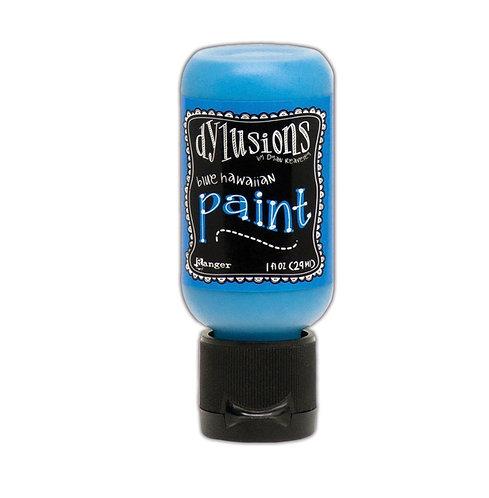 Dylusions Paint- Blue Hawaiian
