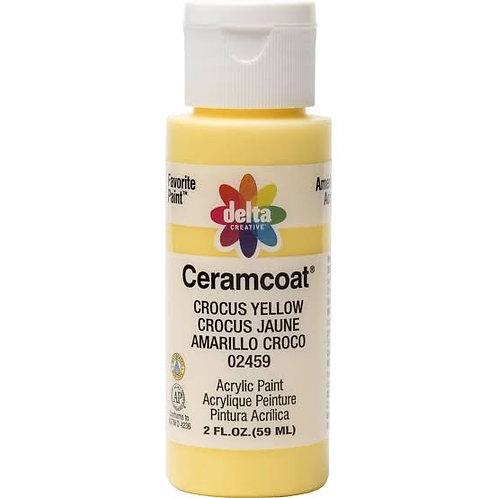 Crocus Yellow Ceramcoat Paint