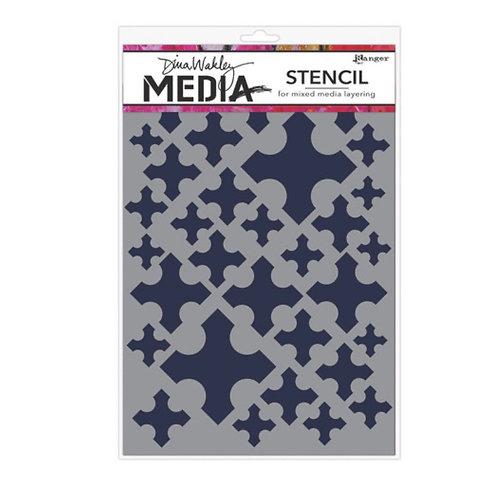 Dina wakley stencil-Medieval Crosses
