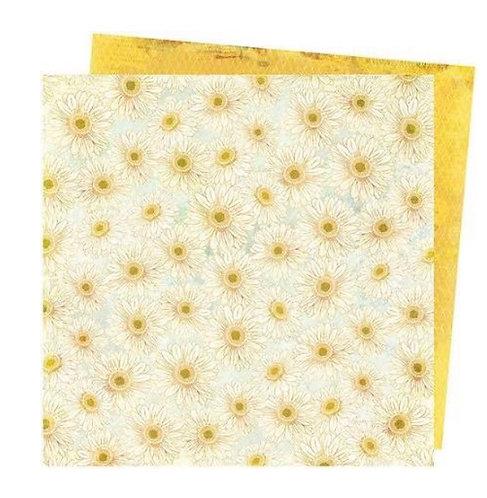 Daisies- Storyteller Vicki Boutin 12x12 patterned paper