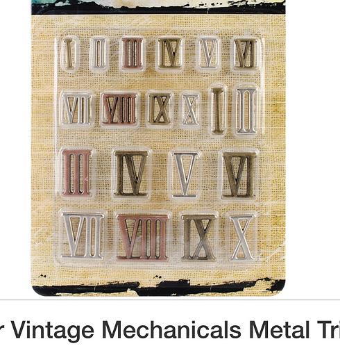 Roman Numerals Mechanicals -Finnabair