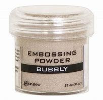 Embossing powder- Bubbly