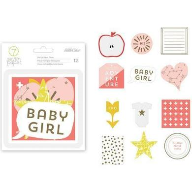 Baby Girl Die Cuts- Seven Papers- Studio Calico