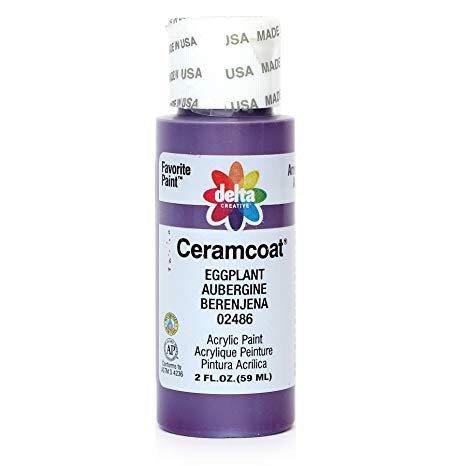 Eggplant Ceramcoat Paint