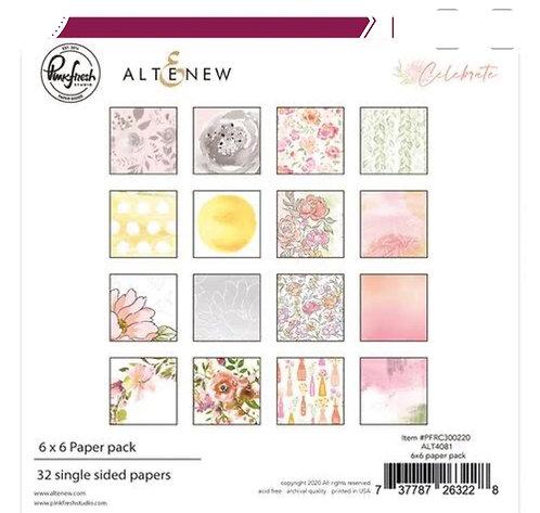 Celebrate 6x6 paper pad