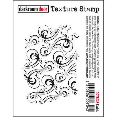 Swirls Texture Stamp