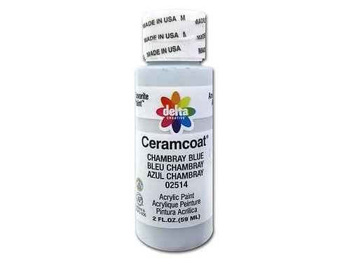 Chambray Blue Ceramcoat Paint
