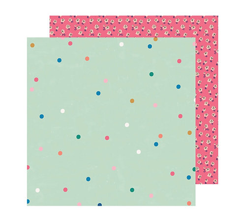 12x12 Sparkle Paper -Sweet Story