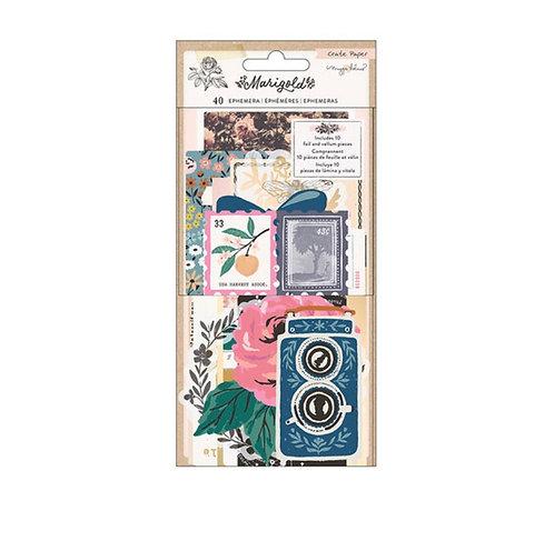 Marigold Ephemera Pack Crate Paper