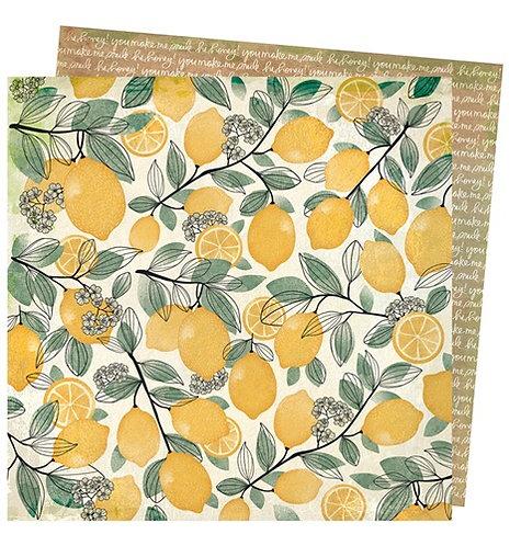 Lemon Spritz-Wild flower And Honey Papers