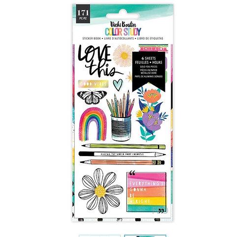 Color Study- 6x12 Sticker Sheet