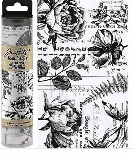 Botanicals Collage Paper