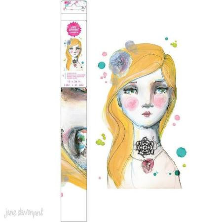 Jane Davenport jumbo rub on15x24