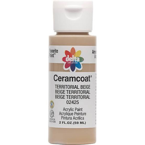 Territorial Beige Ceramcoat Paint