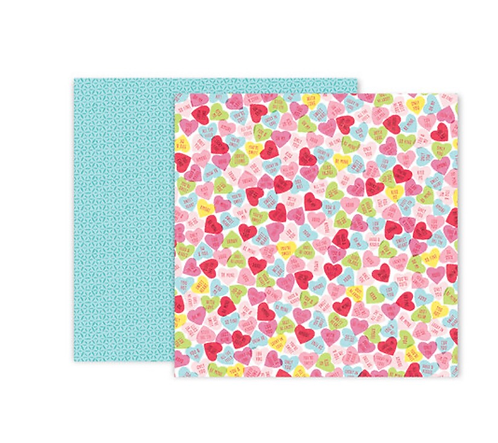 #12   12x12 Double sided patterned paper -Lucky us