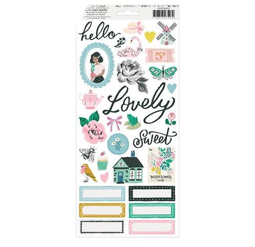 Garden Party- 6x12 Sticker Sheet