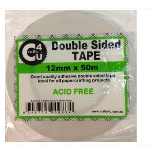 Double sided tape 12mm x 50m