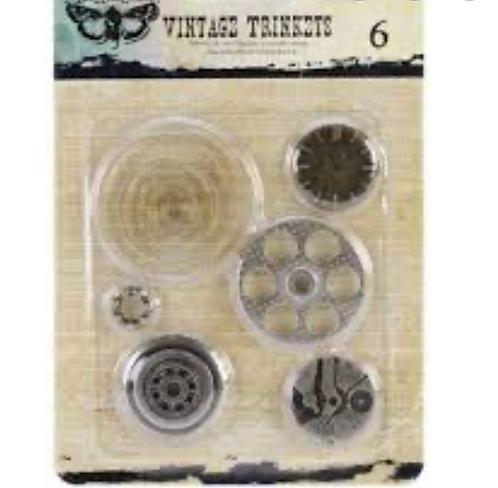 Vintage Trinkets circles