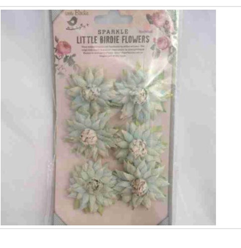Flowers Little Birdie Alslinn Denim Light