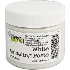 White Modeling Paste