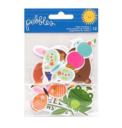 Sun & Fun Vinyl Stickers