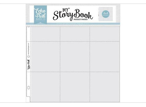 12x 12 My Story Book Pocket Pages