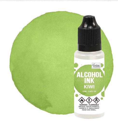 Alcohol Ink Kiwi