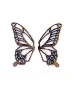 UmWow Butterfly Wings Chipboard