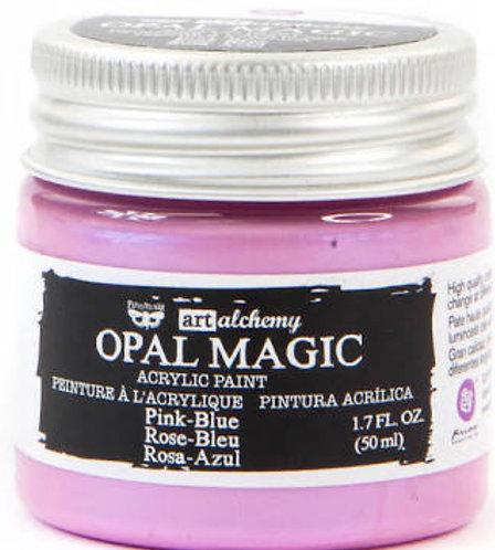Finnabair Art Alchemy Opal Magic pink blue Acrylic Paint