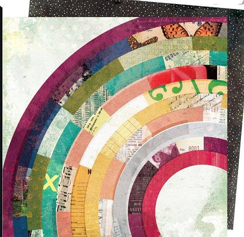 Composition- Storyteller Vicki Boutin 12x12 patterned paper