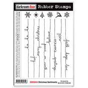 Christmas Sentiments Rubber Stamps- by Darkroom door