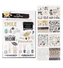 Amy Tangerine Sticker Book