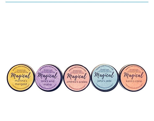 Lindys Magicals Shimmer Powders -Alexandra's artists