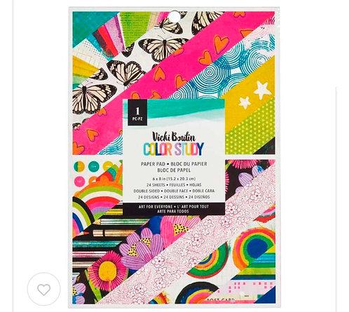 Color Study-6x8 Paper Pad