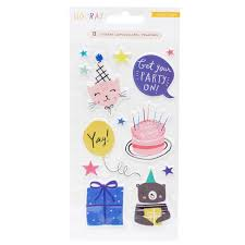 Puffy Stickers- Hooray - Crate paper