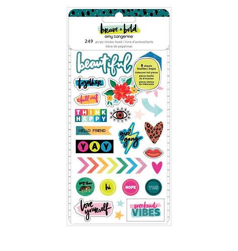 Brave & Bold- Sticker Book