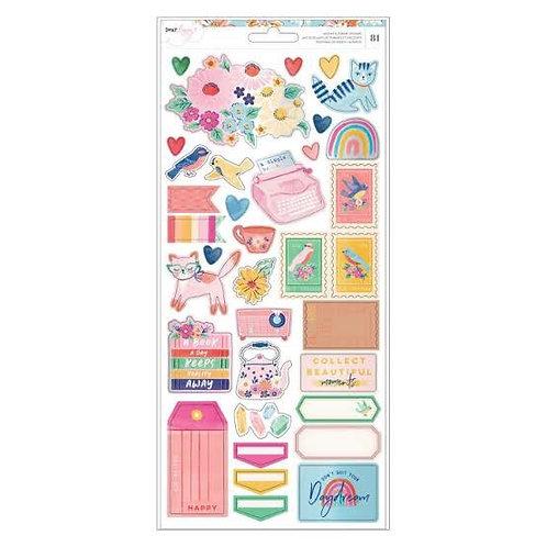 Sticker sheet she's magic by Dear Lizzy