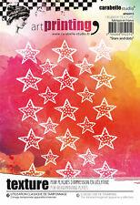 Carabelle Studio Texture Plate- Stars