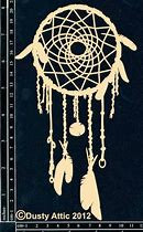 Chipboard Dream Catcher 1- By The Dusty Attic