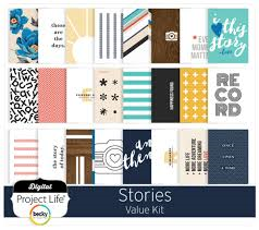 Project Life Value Kit- Stories