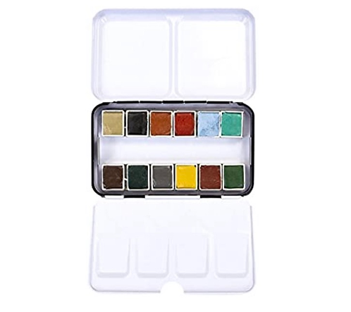 Woodlands  Watercolor  Confections pan set