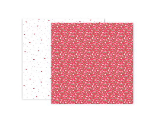 #10 12x12 Double sided patterned paper -Lucky us