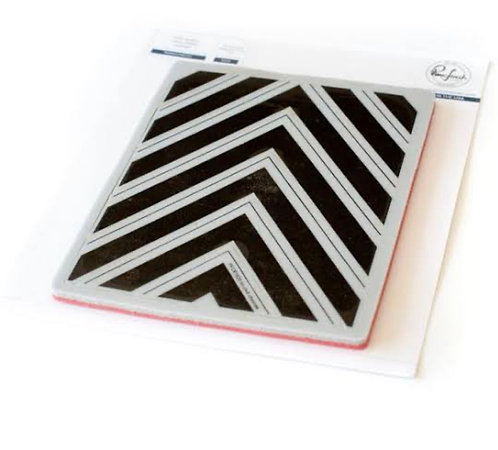 Nested Chevron Stamp by PinkFresh